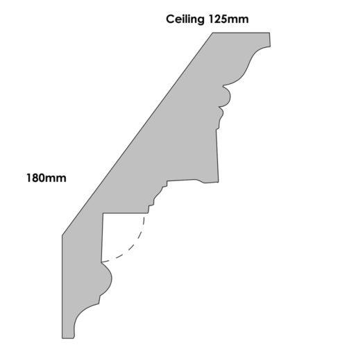 CN26 - Plaster Cornice Profile