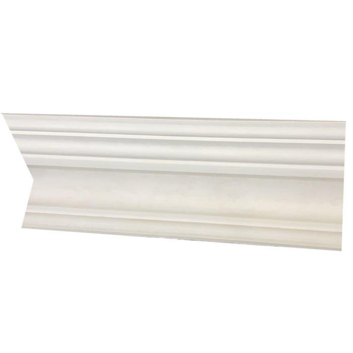 large plain Victorian plaster cornice