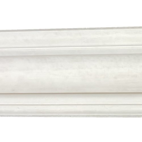 Small plain Victorian plaster cornice from our London collection