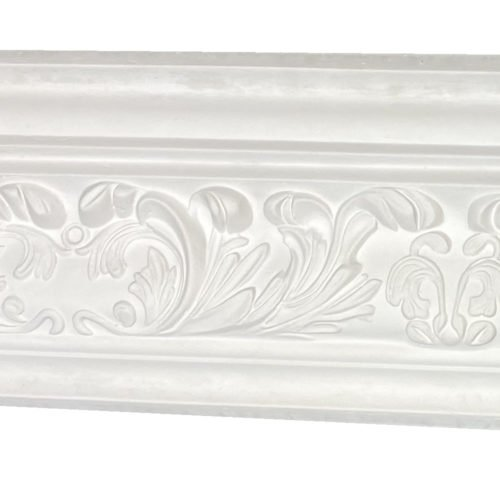 Small acanthus plaster cornice
