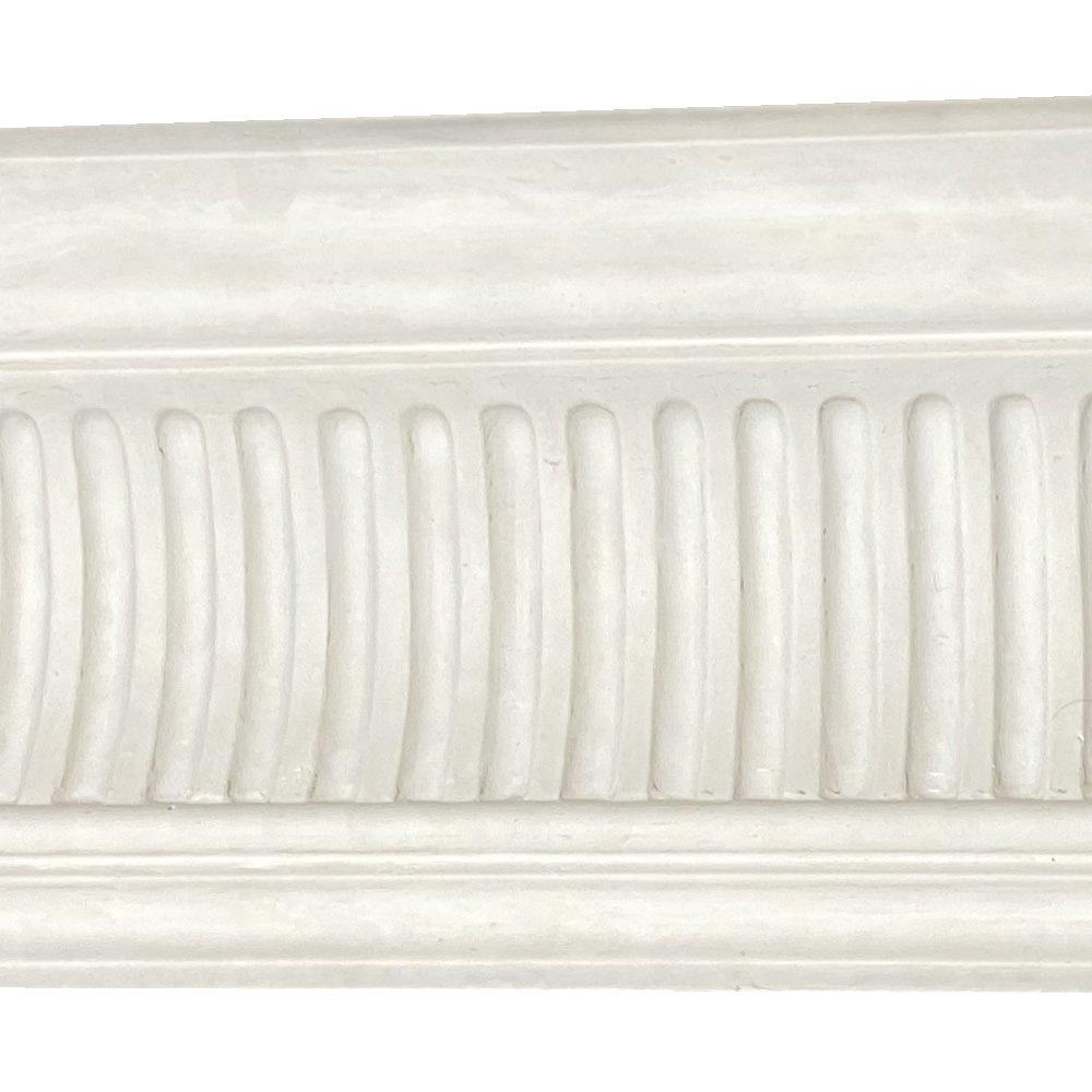 CN63 large fluted Victorian plaster cornice