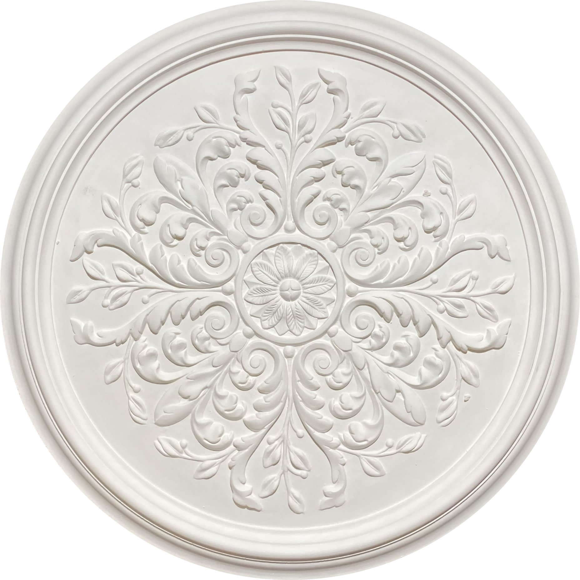 CR19 small decorative Victorian plaster ceiling rose