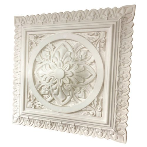 Square Plaster Ceiling Rose