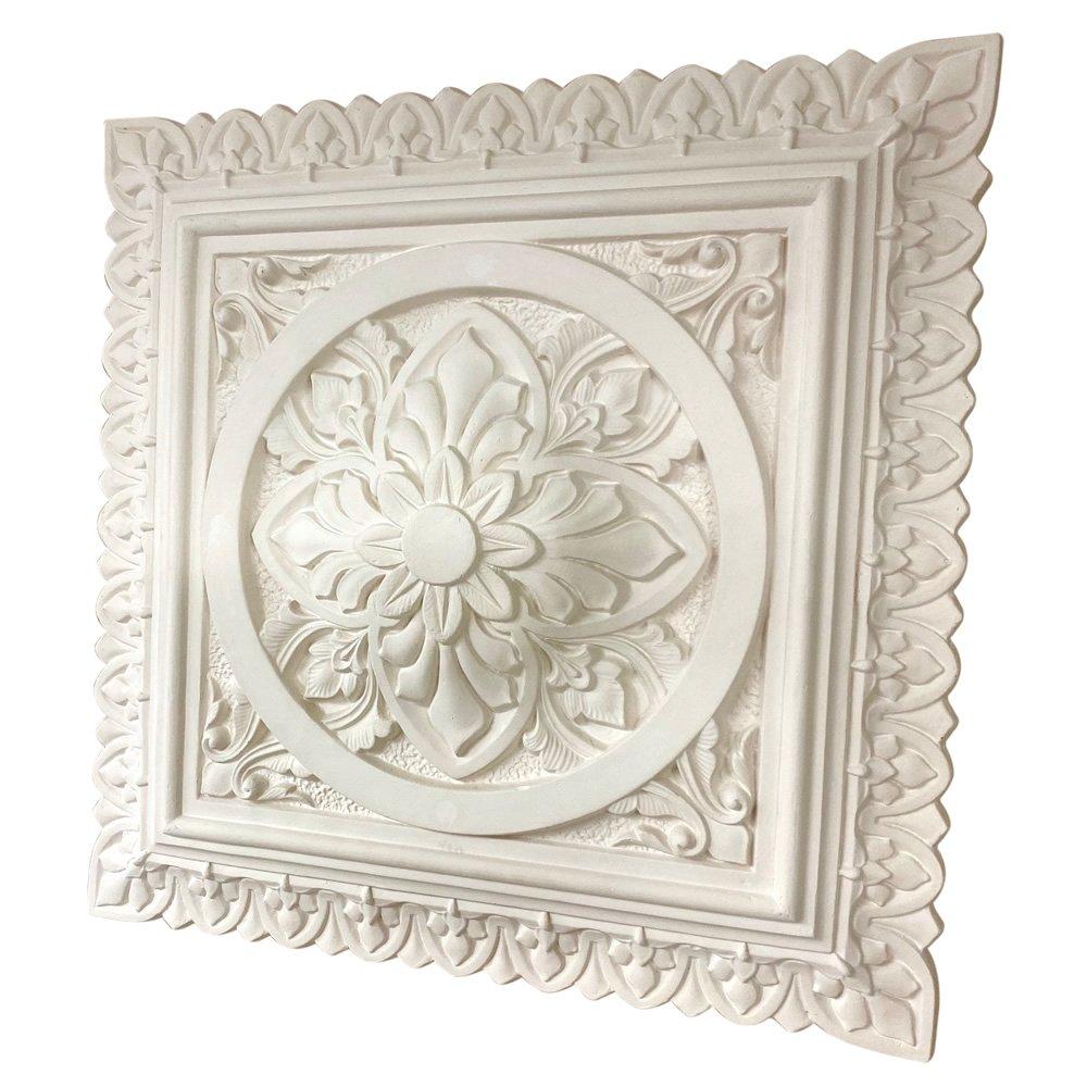 Square Plaster Ceiling Rose