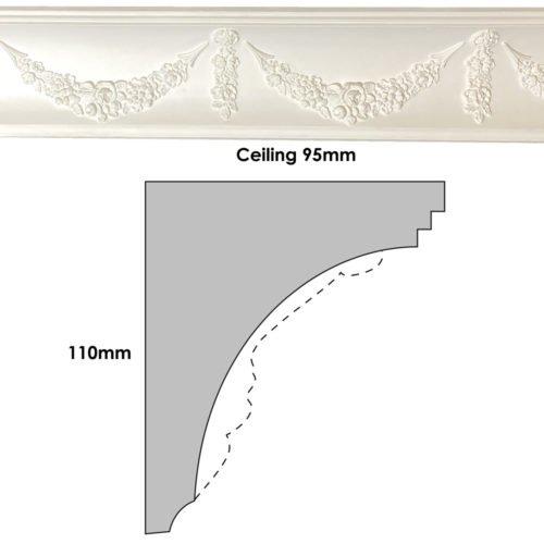 CN64 Cornice Profile