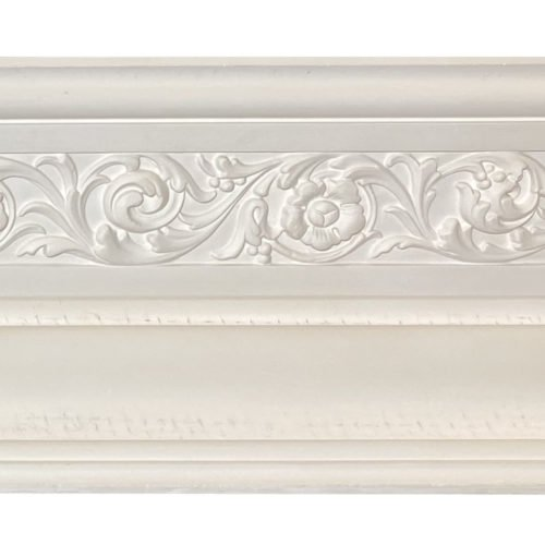 large floral Regency victorian cornice
